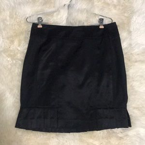 Bebe Black Dress Skirt